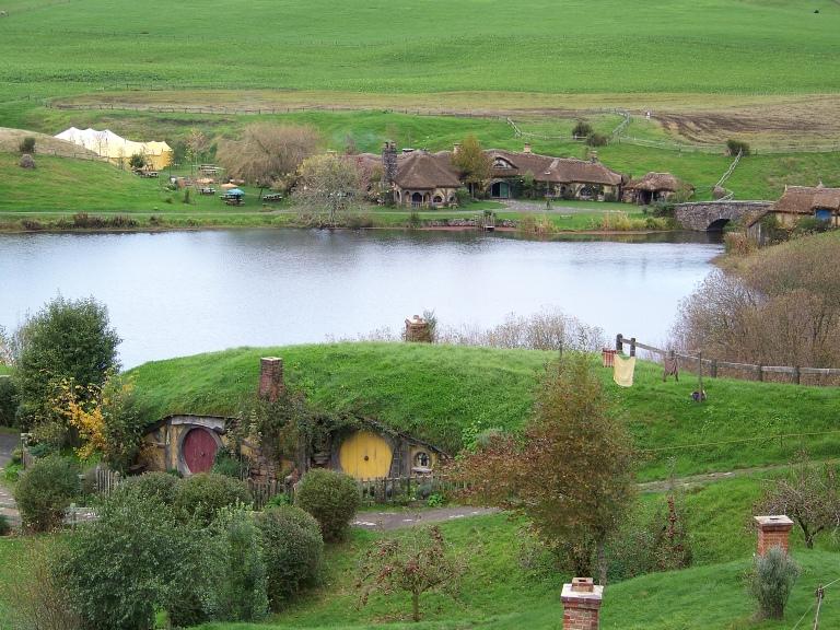 Green Dragon Inn at Hobbiton